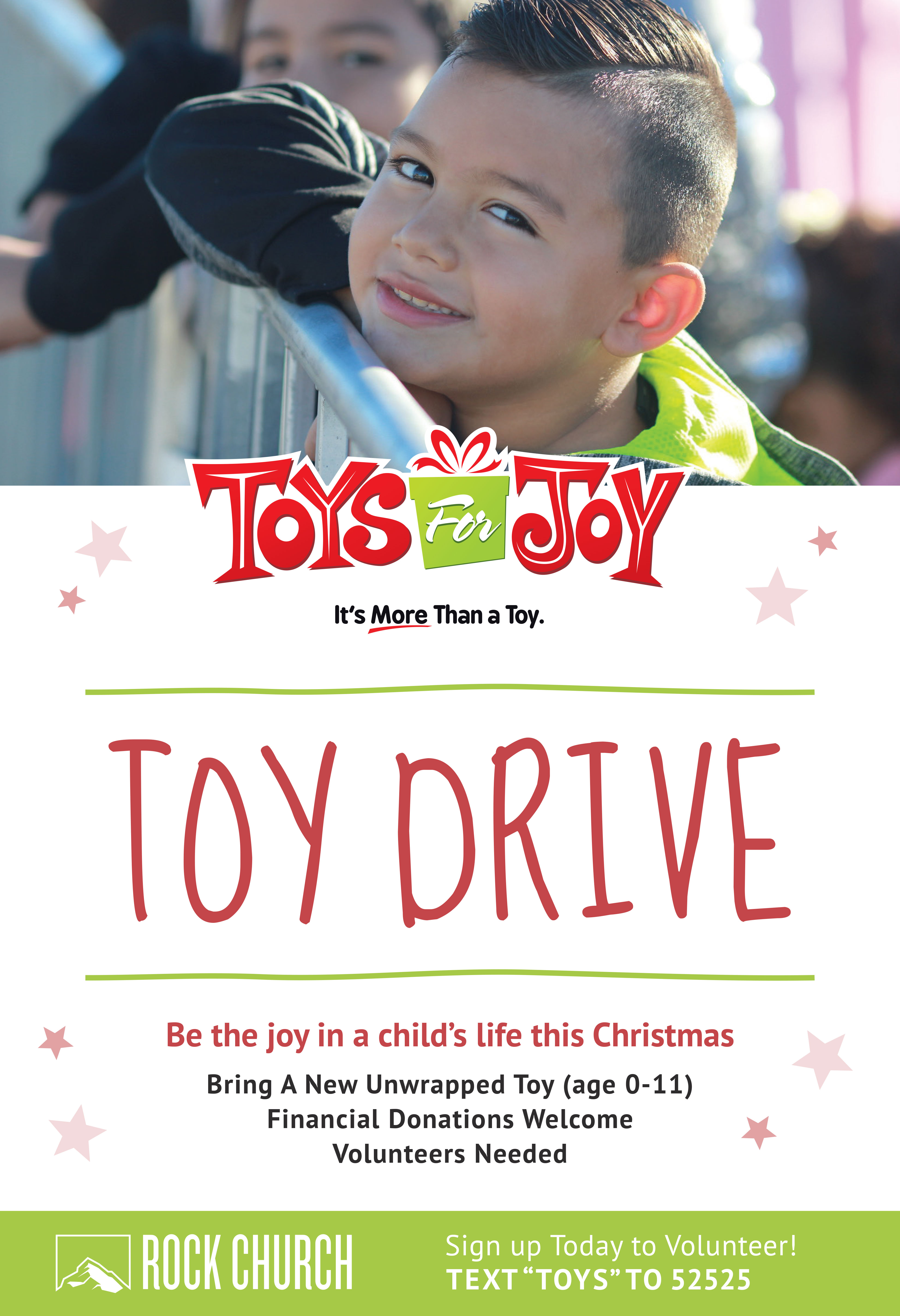 Toys for Joy 2019 Toy Drive
